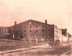 Pemberton was the warehouse behind LIbby Prison to the left.